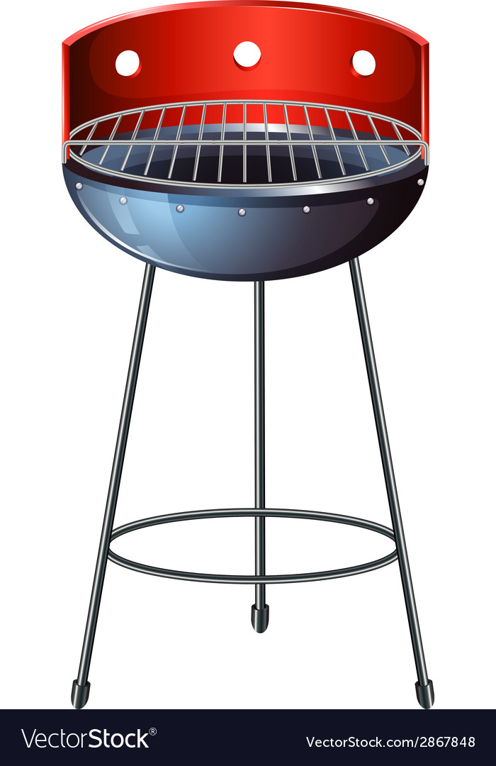 A grilling device vector | Price: 1 Credit (USD $1)