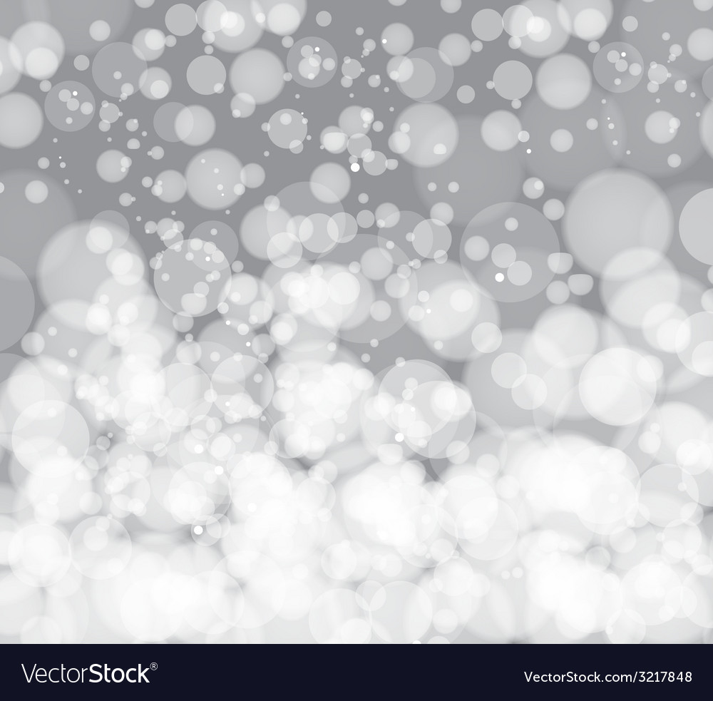 Glittering silver christmas background vector | Price: 1 Credit (USD $1)