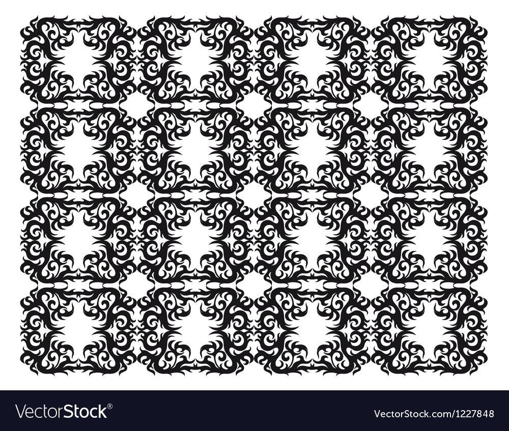 Ornamental silhouette vector | Price: 1 Credit (USD $1)