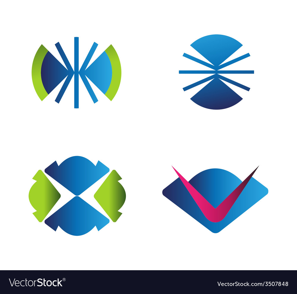 Set of logo vector | Price: 1 Credit (USD $1)