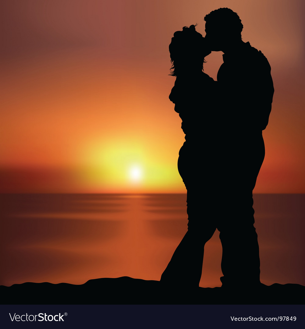 Lovers vector | Price: 1 Credit (USD $1)