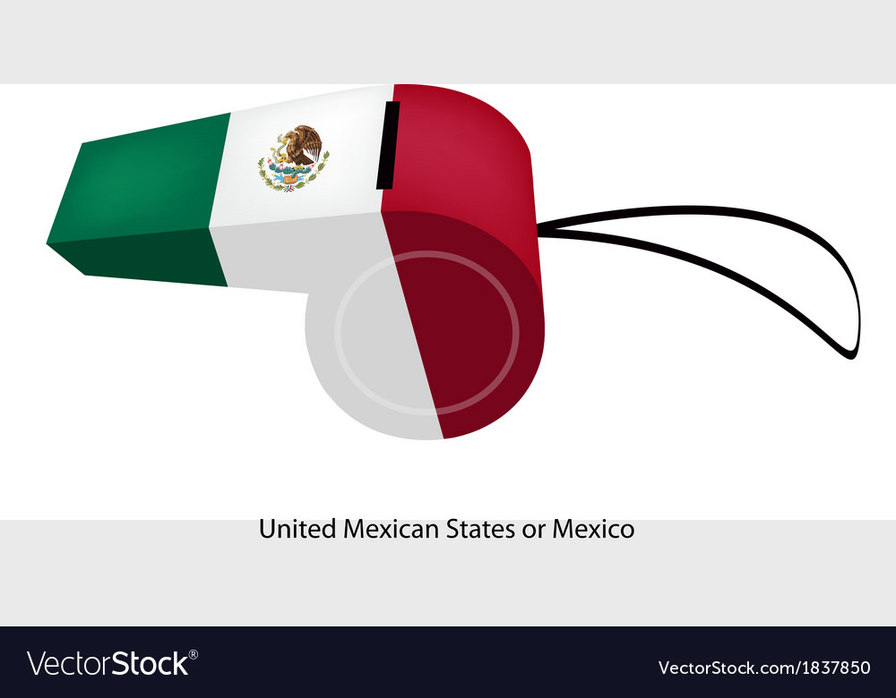 A whistle of the united mexican states vector | Price: 1 Credit (USD $1)