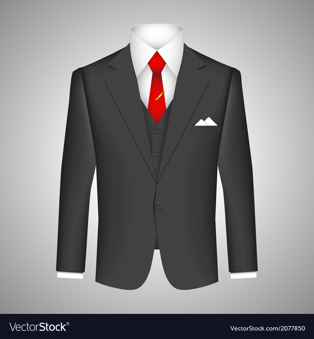 Business suit concept vector | Price: 1 Credit (USD $1)