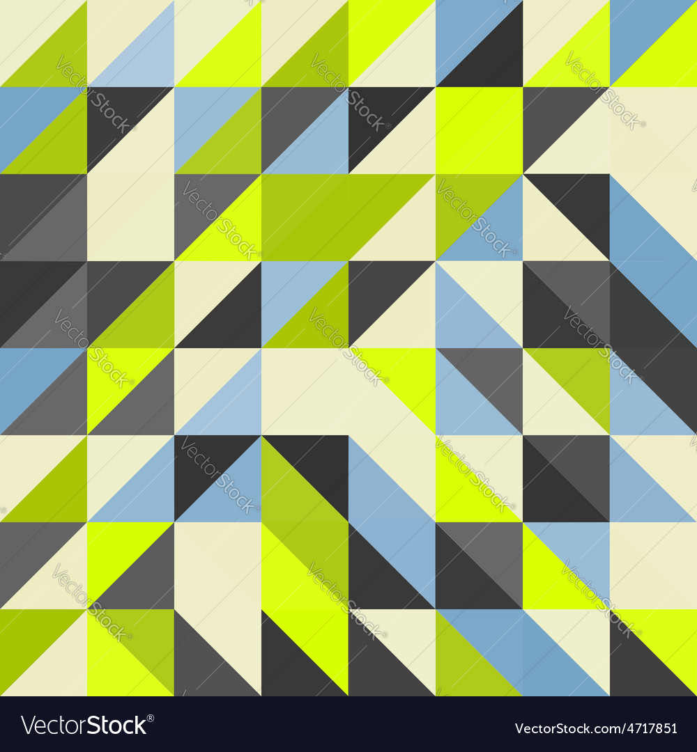 Geometric triangles background mosaic vector   Price: 1 Credit (USD $1)