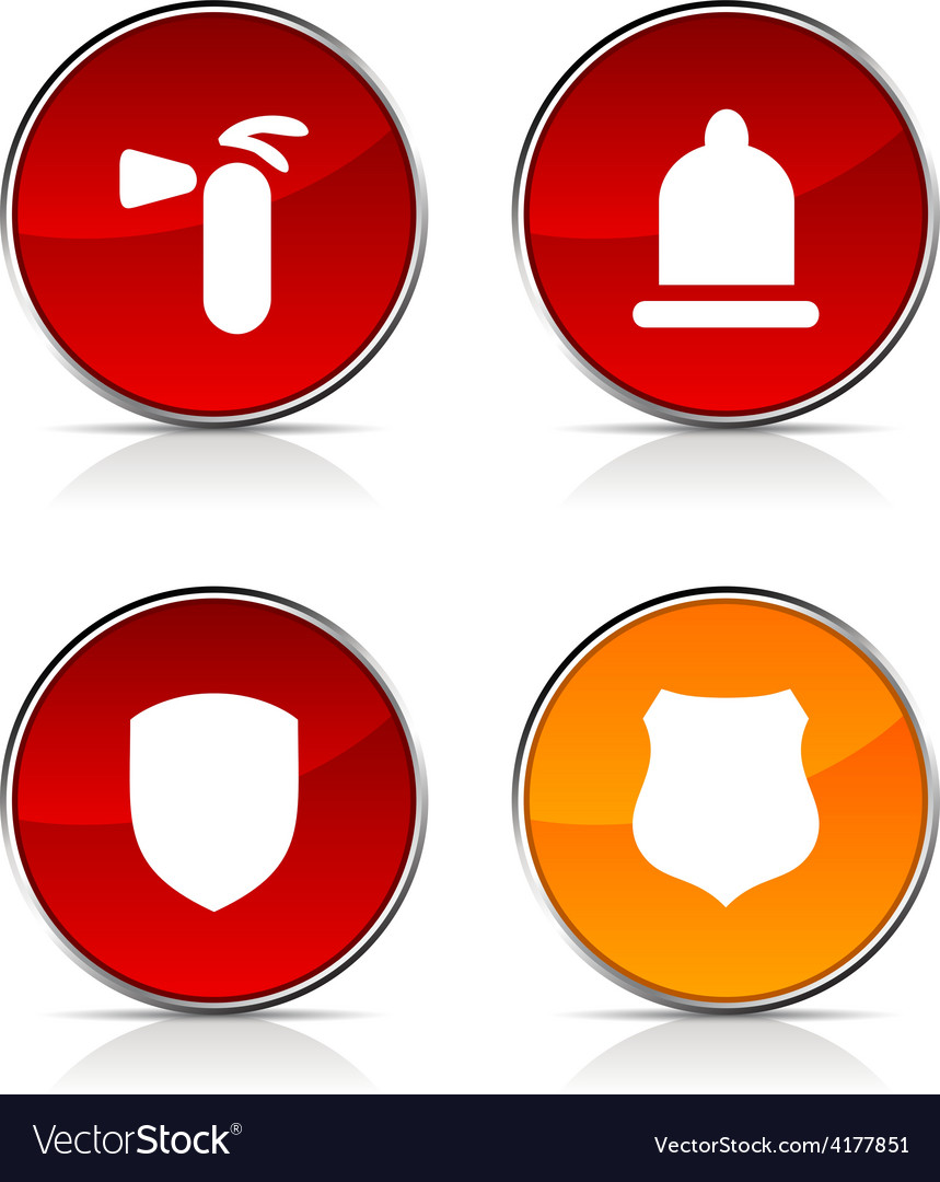 Safety icons vector | Price: 1 Credit (USD $1)