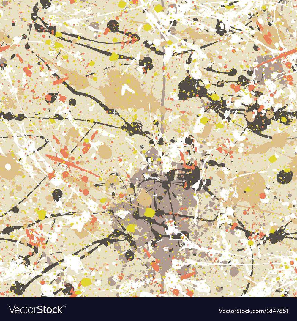 Splatter paint wallpaper vector | Price: 1 Credit (USD $1)