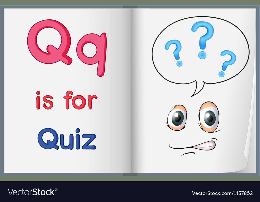 Quiz vector | Price: 1 Credit (USD $1)