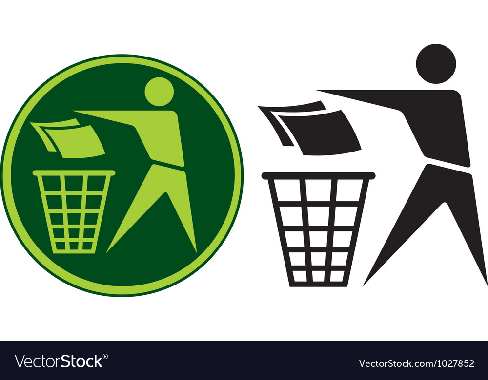 Recycling sign vector | Price: 1 Credit (USD $1)