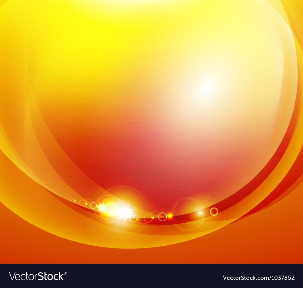 Sunshine orange background vector | Price: 1 Credit (USD $1)