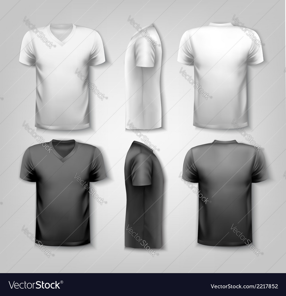T-shirts with sample text space vector | Price: 1 Credit (USD $1)
