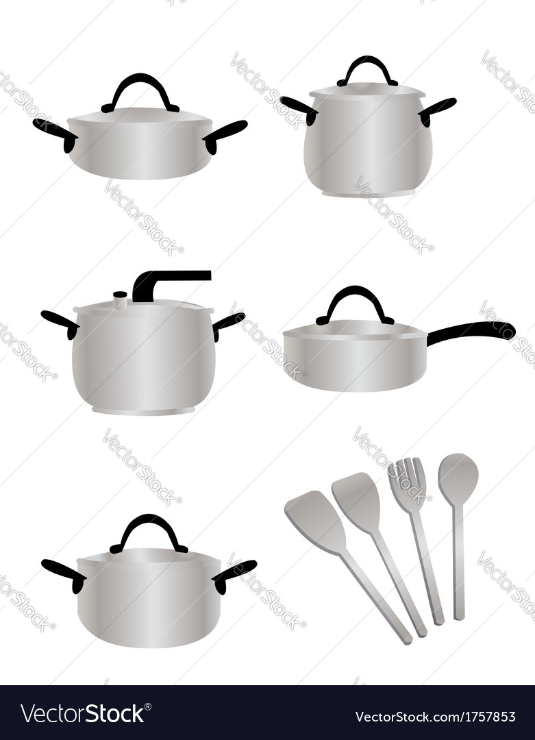 Cooking equipment vector | Price: 1 Credit (USD $1)