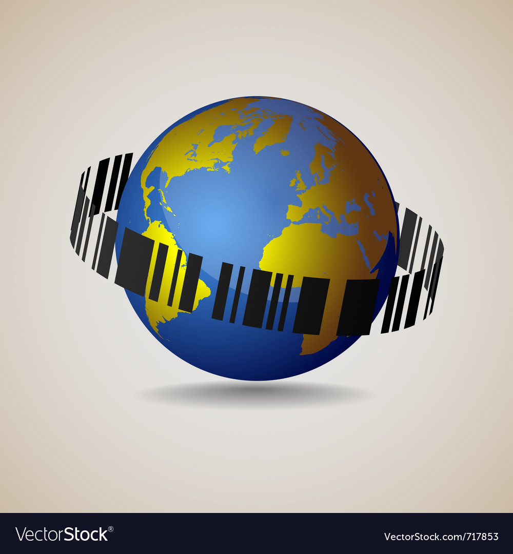 Globe-sale conceptual vector | Price: 1 Credit (USD $1)