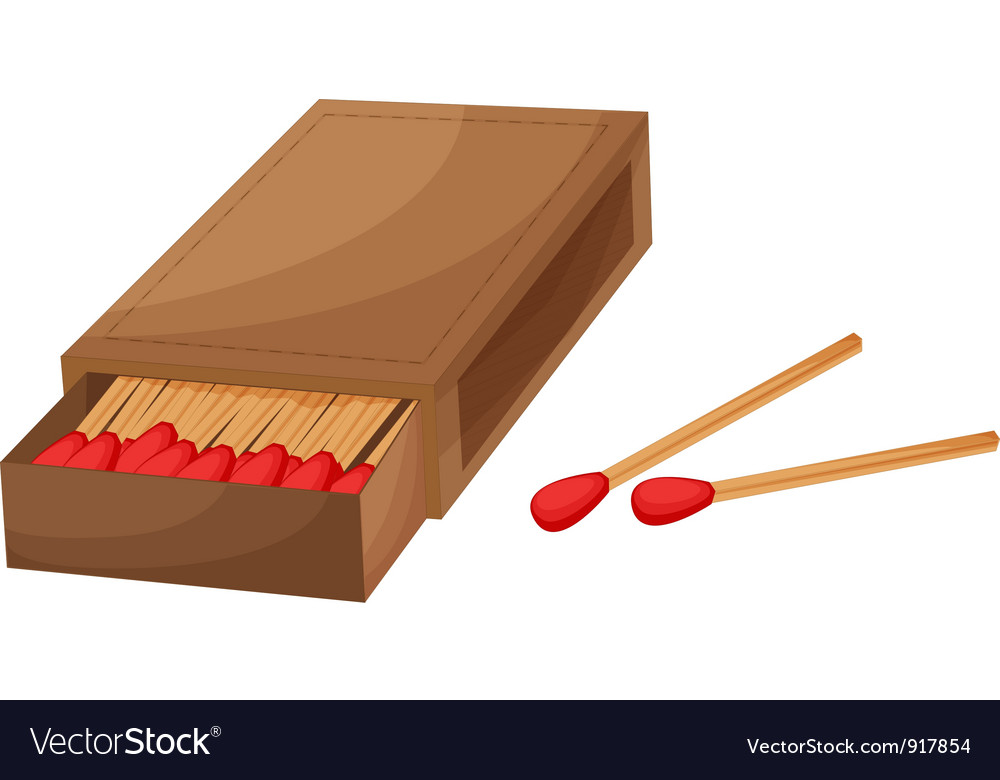Box of matches vector   Price: 1 Credit (USD $1)