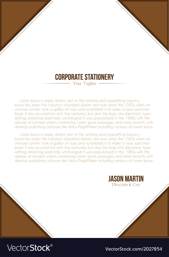 Corporate a4 flyer vector | Price: 1 Credit (USD $1)