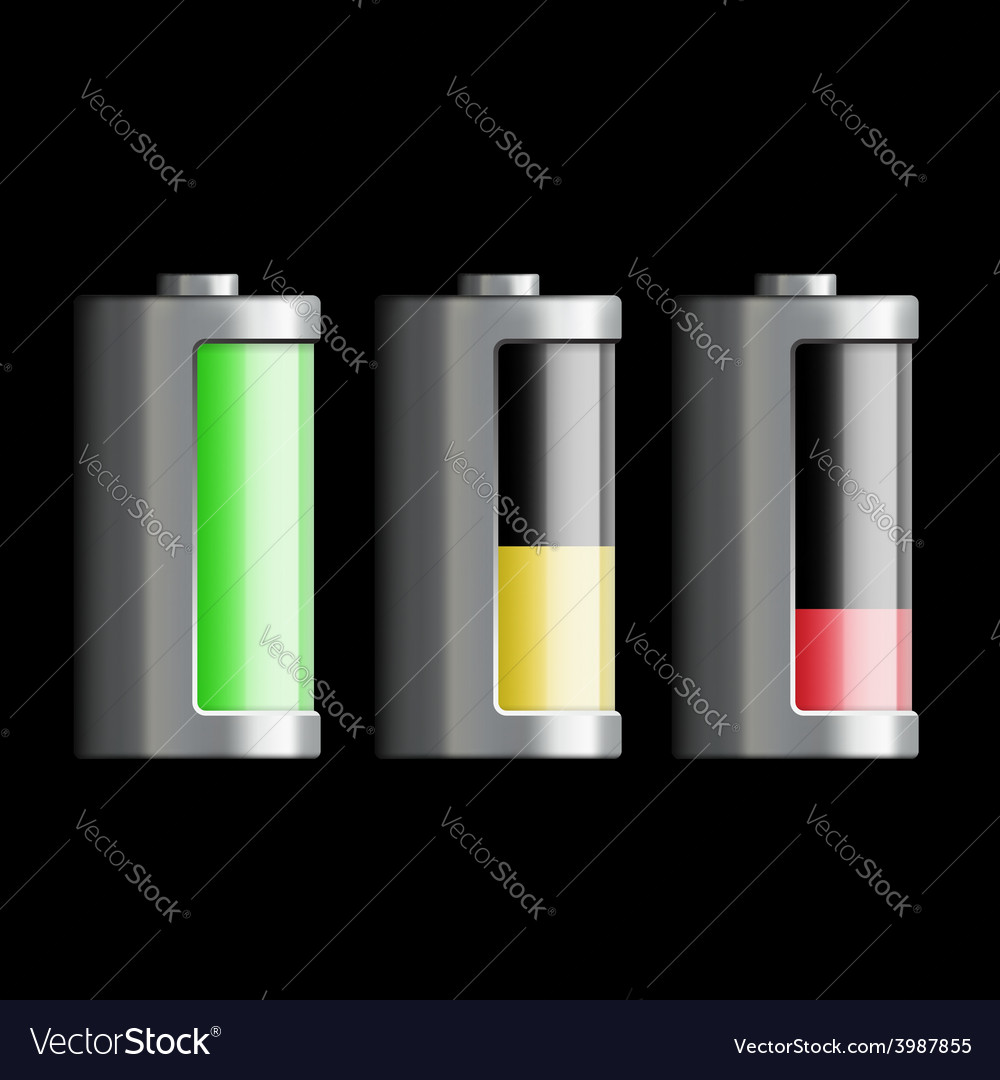 Battery charge vector | Price: 1 Credit (USD $1)