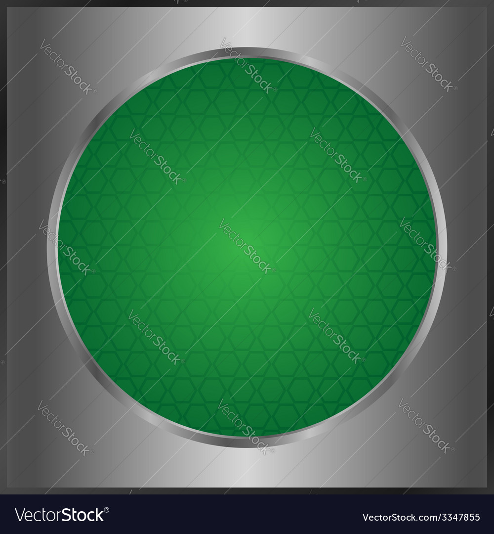 Green button vector | Price: 1 Credit (USD $1)