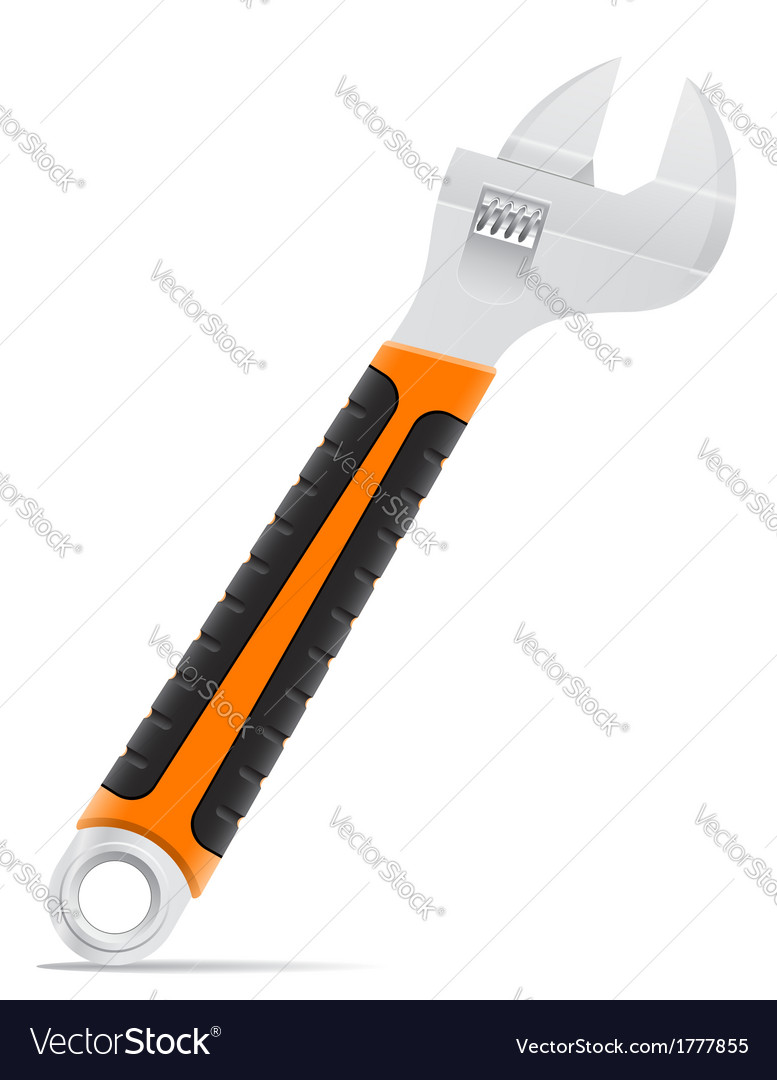 Tool screw wrench 02 vector | Price: 1 Credit (USD $1)