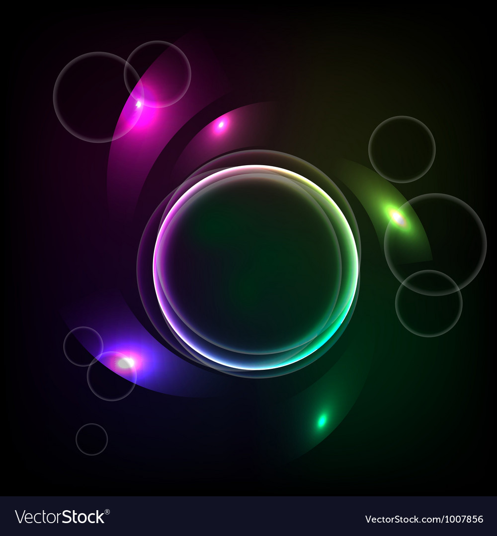 Abstract background with the ball and the color el vector | Price: 1 Credit (USD $1)