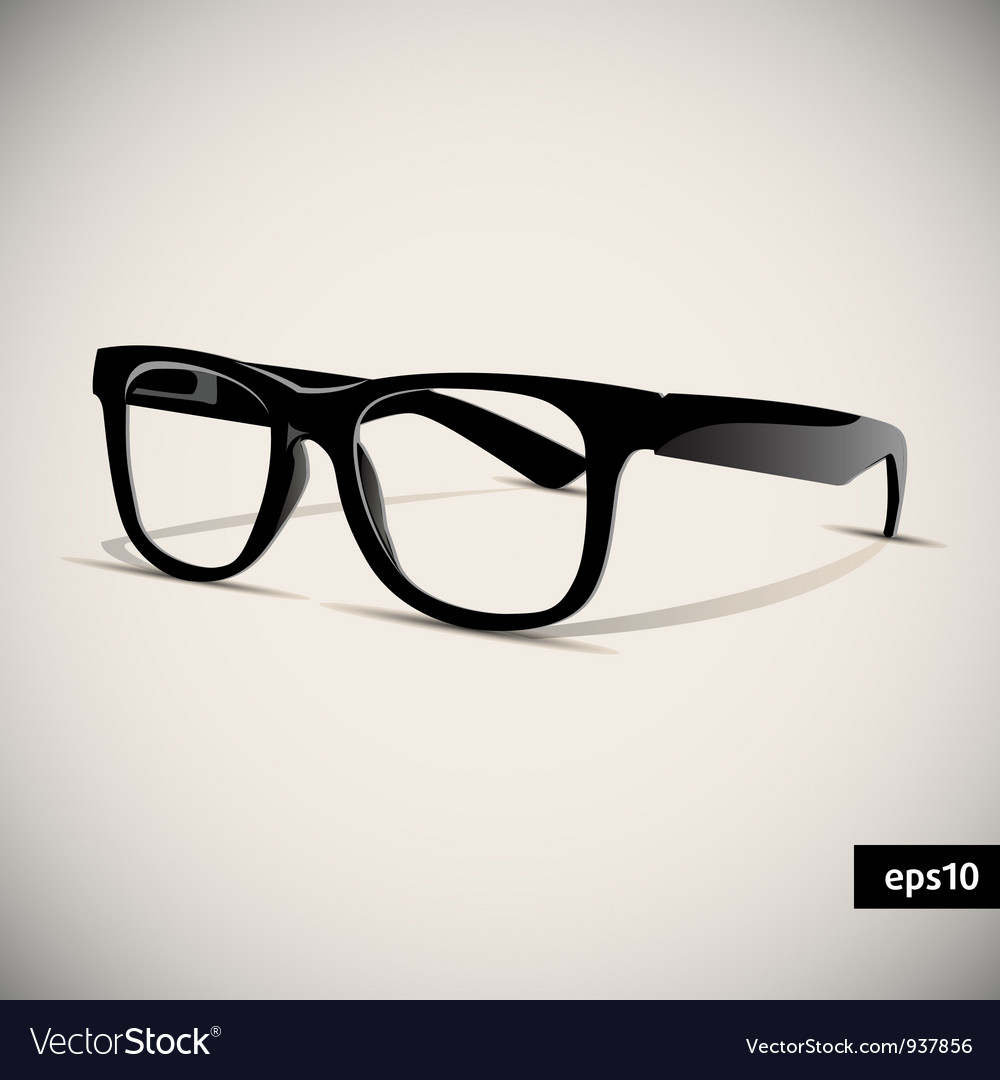 Glasses vector | Price: 3 Credit (USD $3)