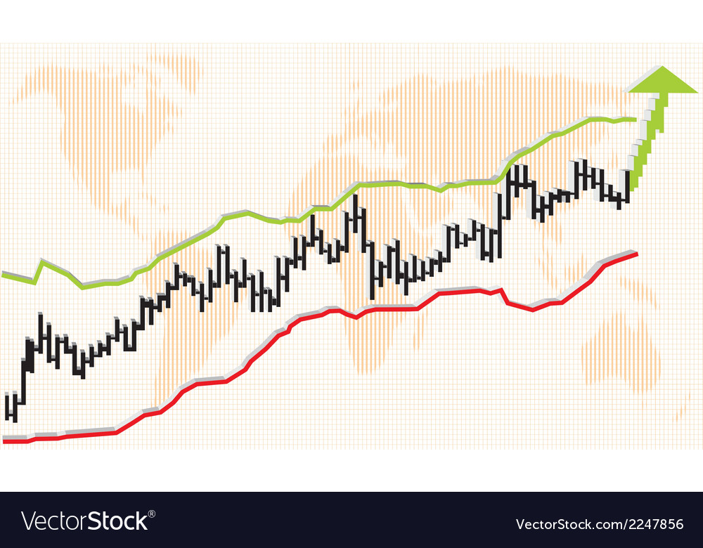 Growth graph vector   Price: 1 Credit (USD $1)