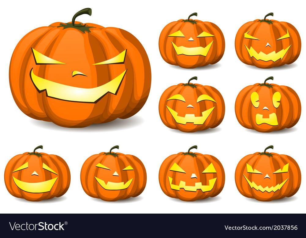 Halloween card design vector | Price: 1 Credit (USD $1)
