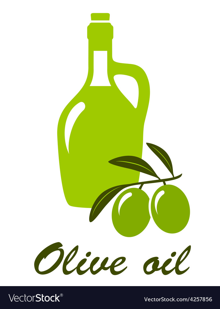 Olive oil sign vector | Price: 1 Credit (USD $1)
