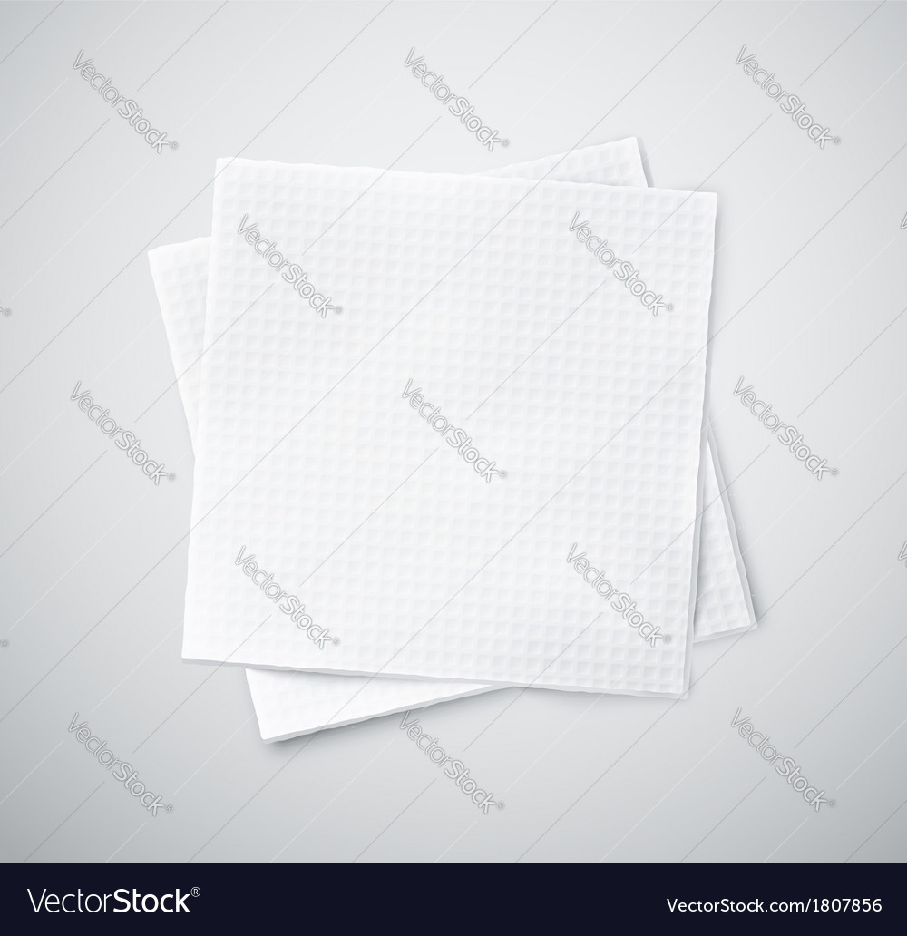 Two napkins vector | Price: 1 Credit (USD $1)