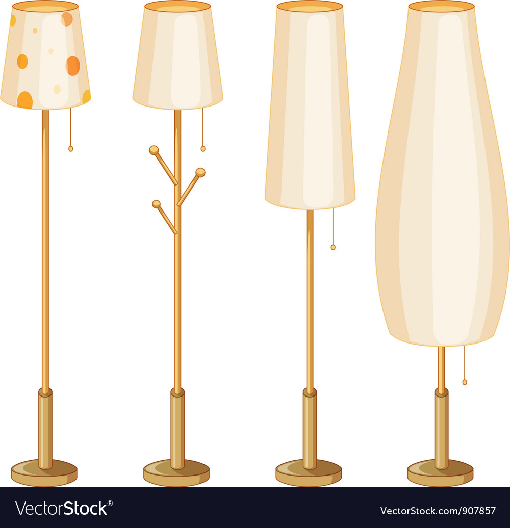 Lamps vector | Price: 3 Credit (USD $3)