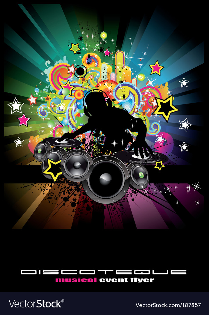 Musical event background vector | Price: 3 Credit (USD $3)