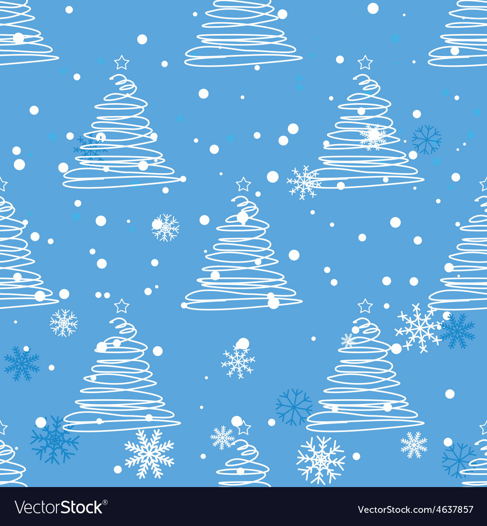 Twisted fir tree pattern vector | Price: 1 Credit (USD $1)
