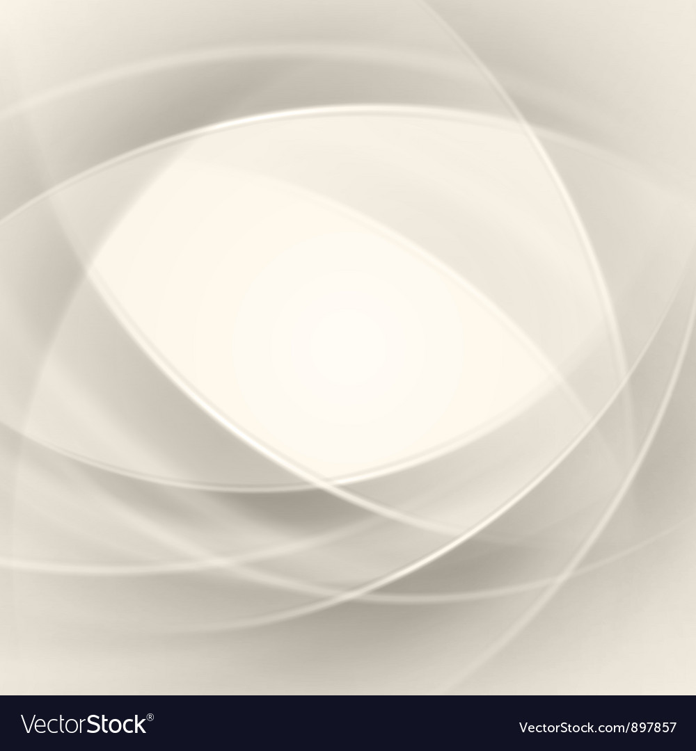 White smooth twist light lines background vector | Price: 1 Credit (USD $1)