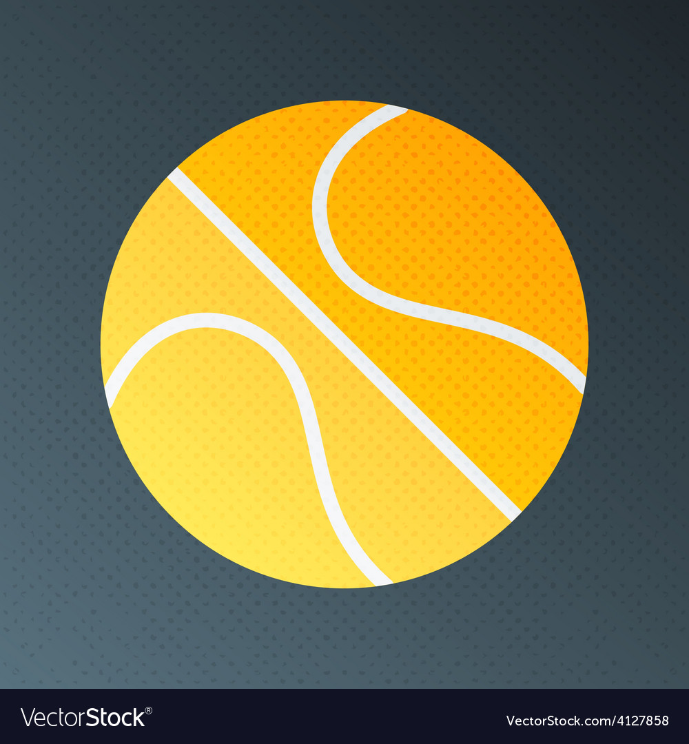Basketball halftone stylized vector | Price: 1 Credit (USD $1)