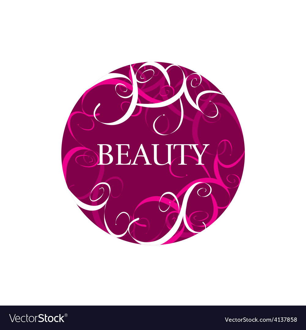 Round abstract logo for fashion vector | Price: 1 Credit (USD $1)