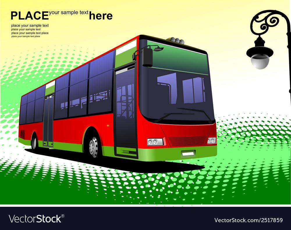 Al 0305 bus vector   Price: 1 Credit (USD $1)