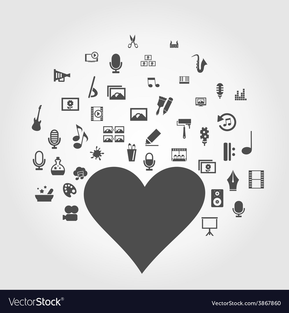 Art heart2 vector | Price: 1 Credit (USD $1)