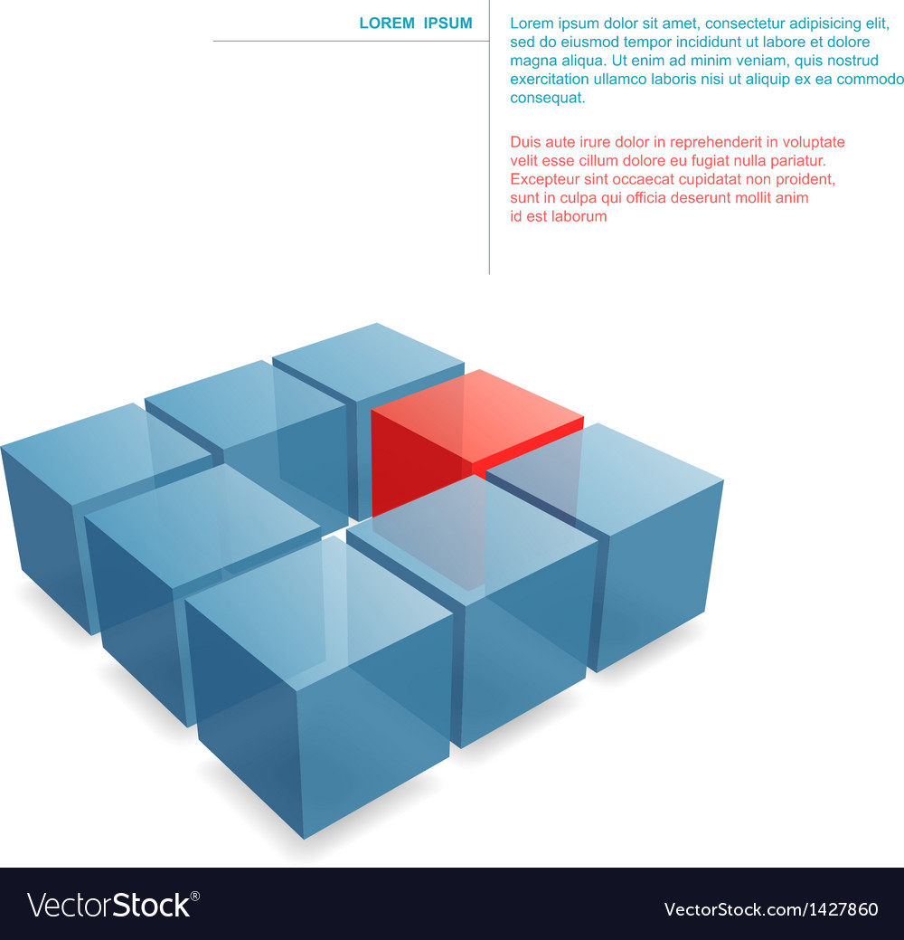 Building blocks vector | Price: 1 Credit (USD $1)