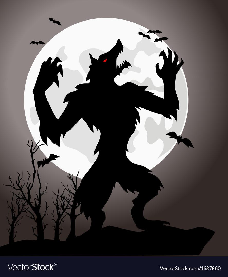 Werewolf vector   Price: 1 Credit (USD $1)