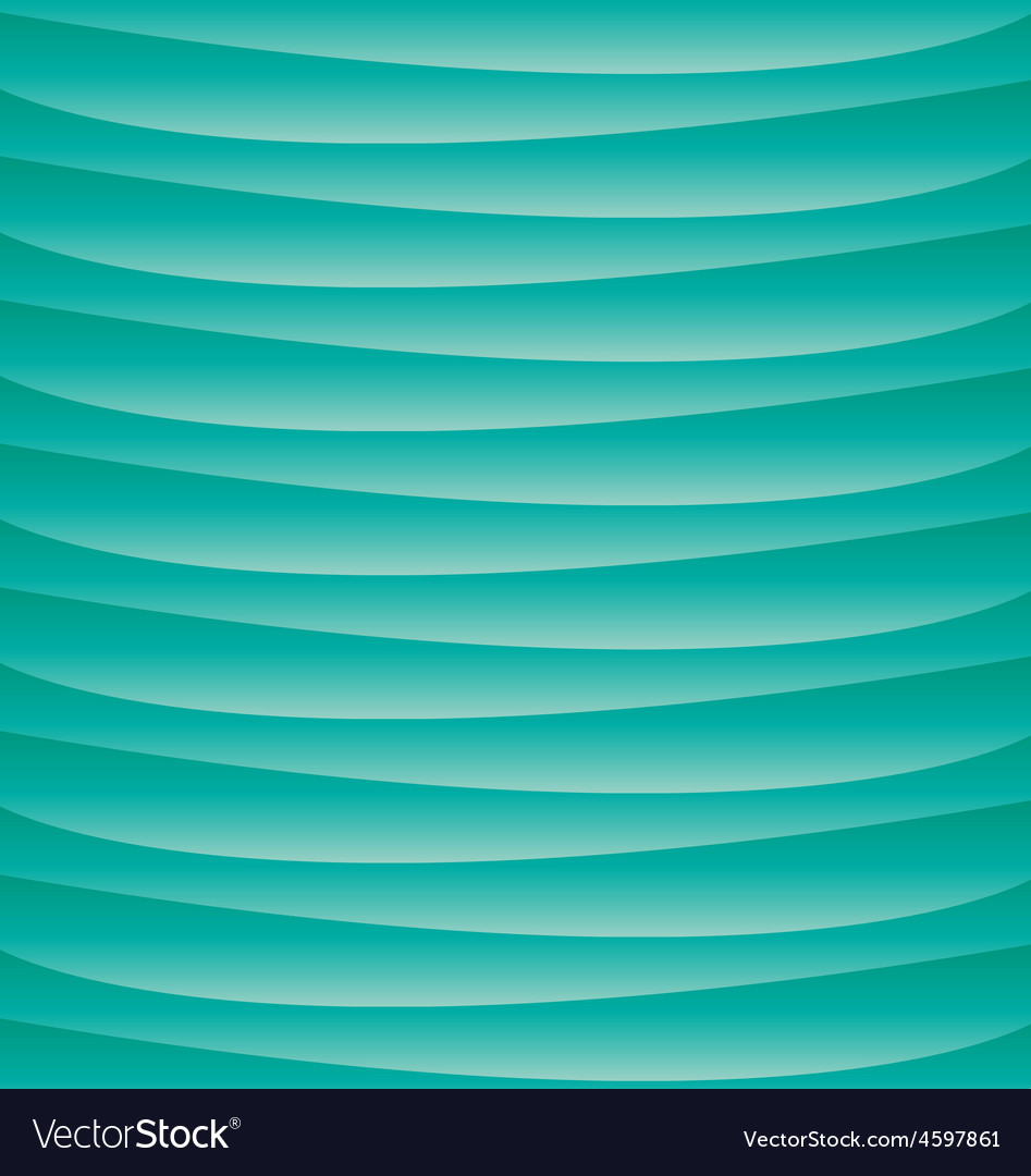 Blue turqoise background sea ocean waves vector | Price: 1 Credit (USD $1)
