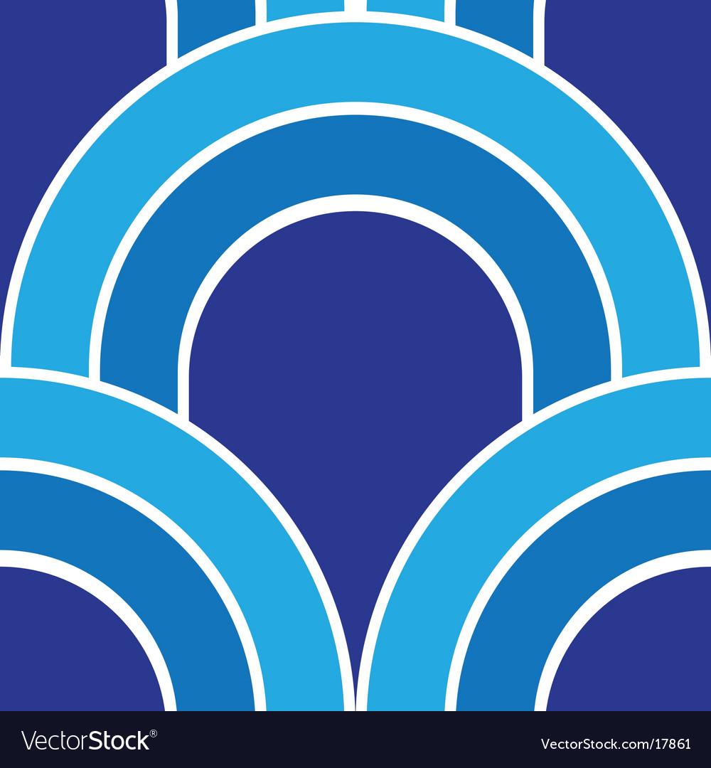 Blue wave vector | Price: 1 Credit (USD $1)