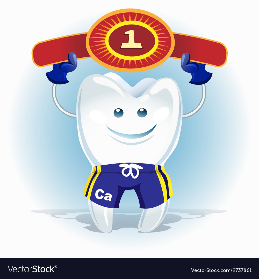 Champion tooth vector | Price: 1 Credit (USD $1)