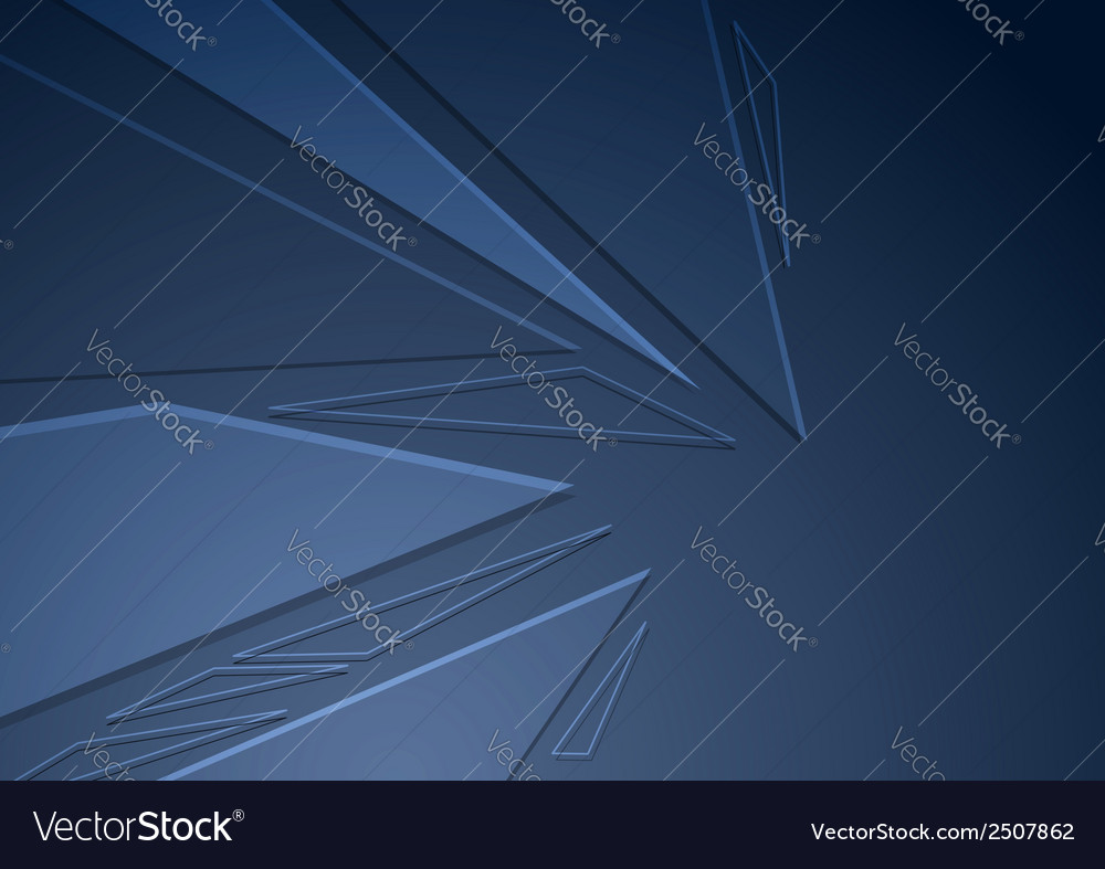 Abstract crystal folder concept background vector | Price: 1 Credit (USD $1)