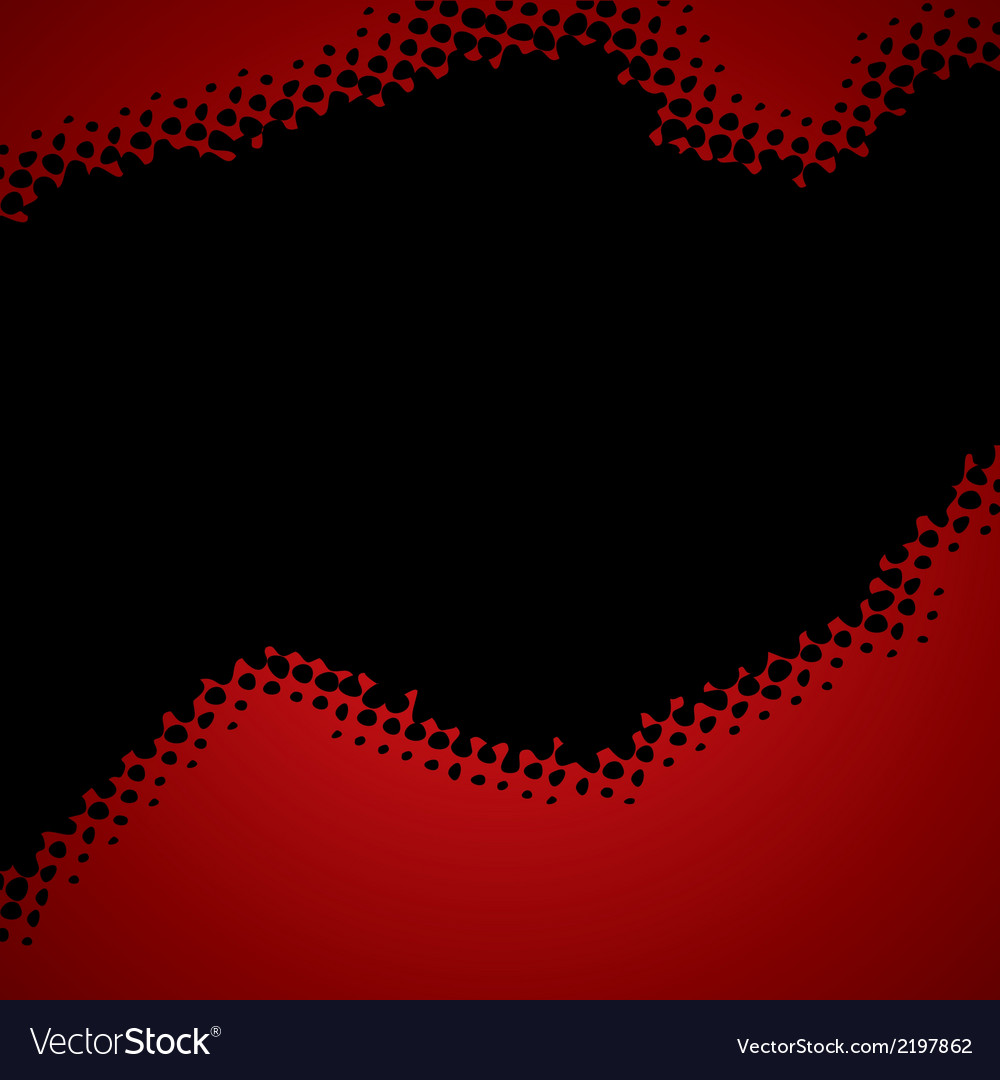 Abstract red-black halftone background vector | Price: 1 Credit (USD $1)