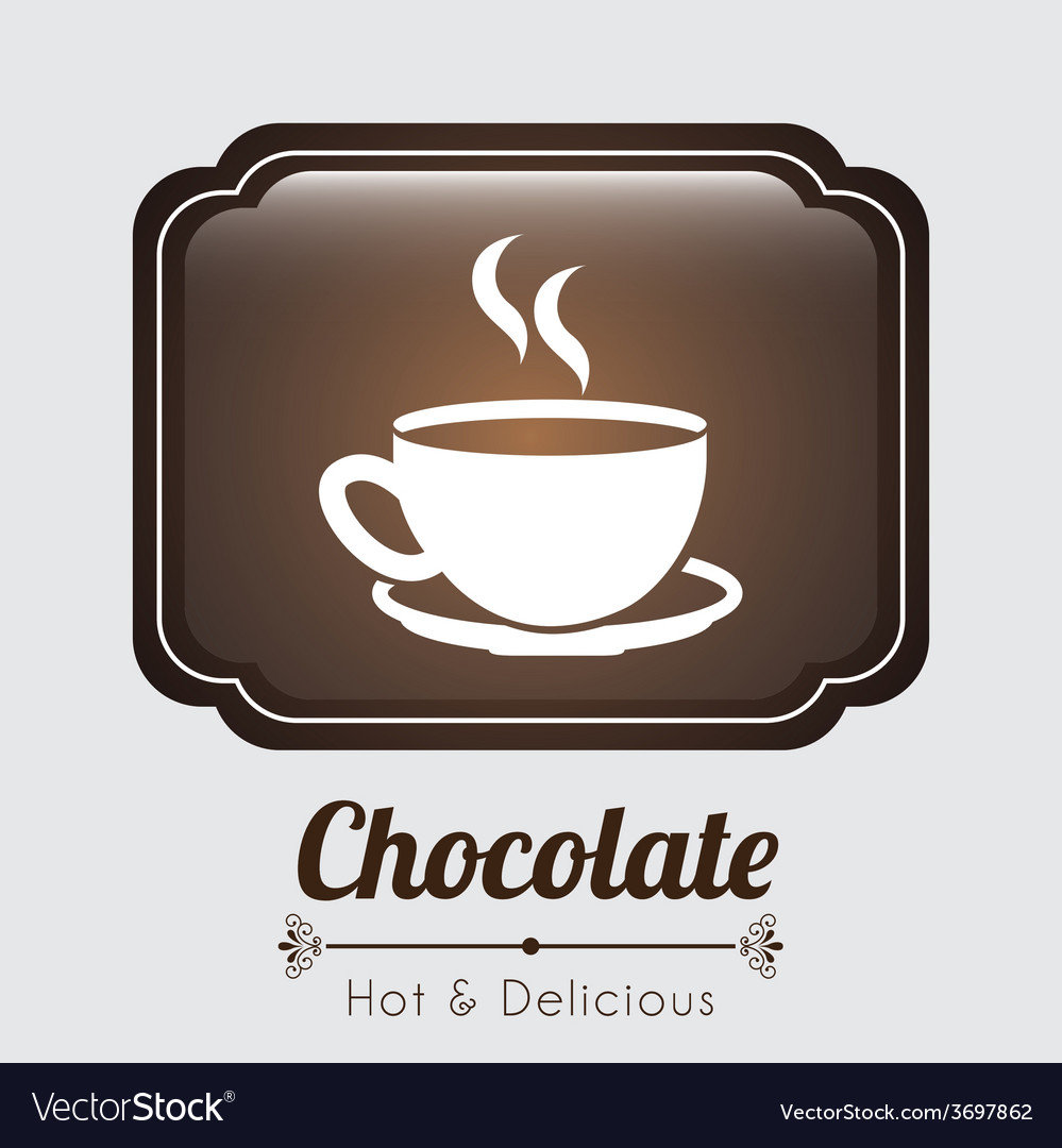 Delicious chocolate vector | Price: 1 Credit (USD $1)