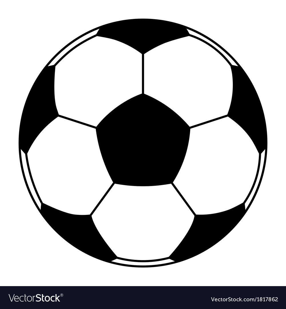 Football ball vector | Price: 1 Credit (USD $1)