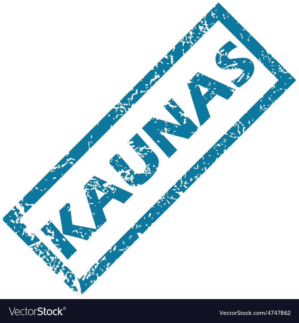 Kaunas rubber stamp vector | Price: 1 Credit (USD $1)