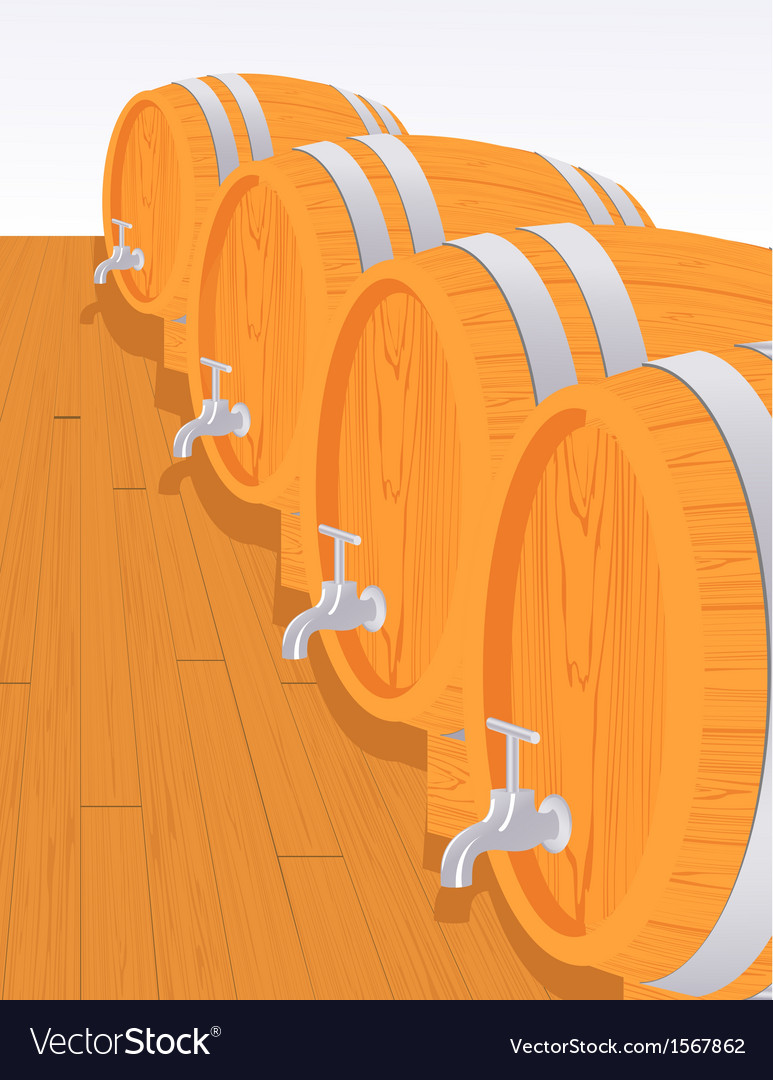 Wine cellar vector | Price: 1 Credit (USD $1)