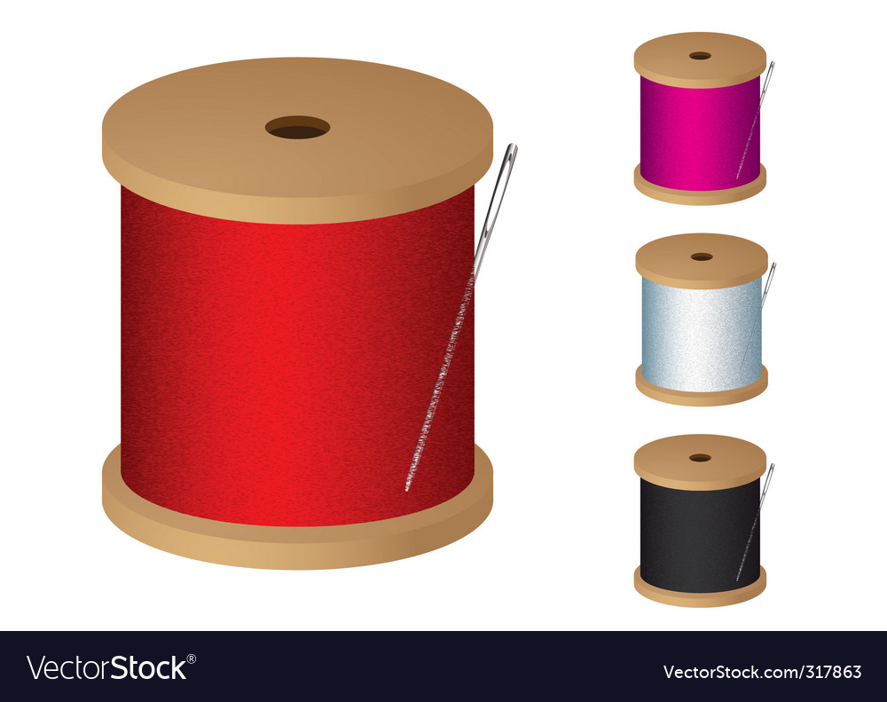 Cotton reel vector | Price: 1 Credit (USD $1)