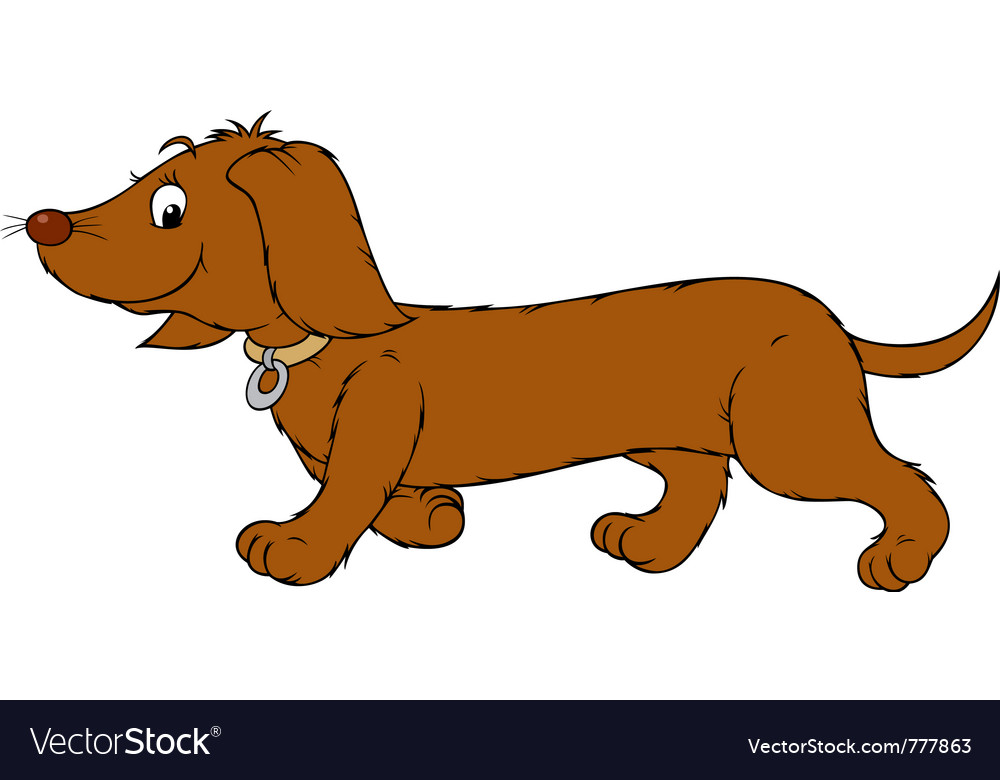 Dachshund vector | Price: 3 Credit (USD $3)