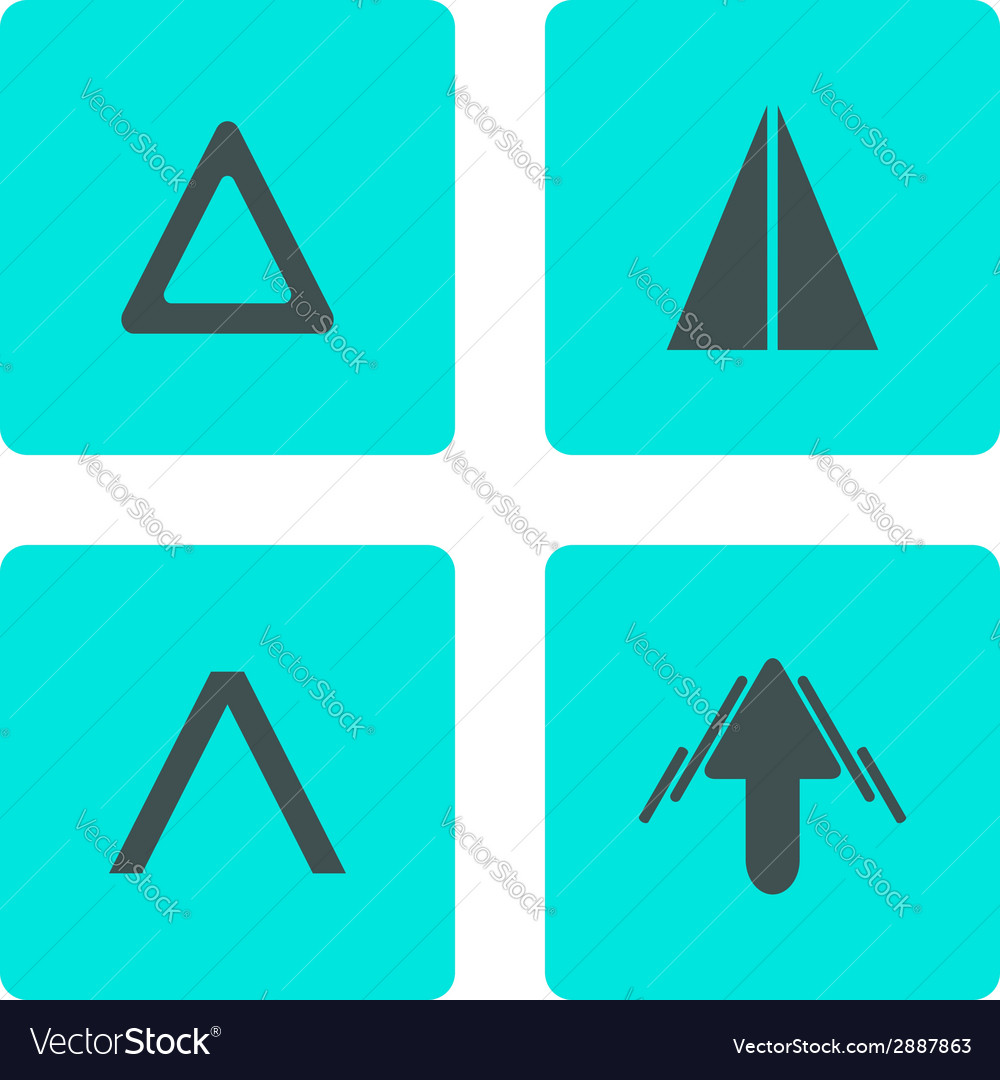 Top buttons set vector | Price: 1 Credit (USD $1)