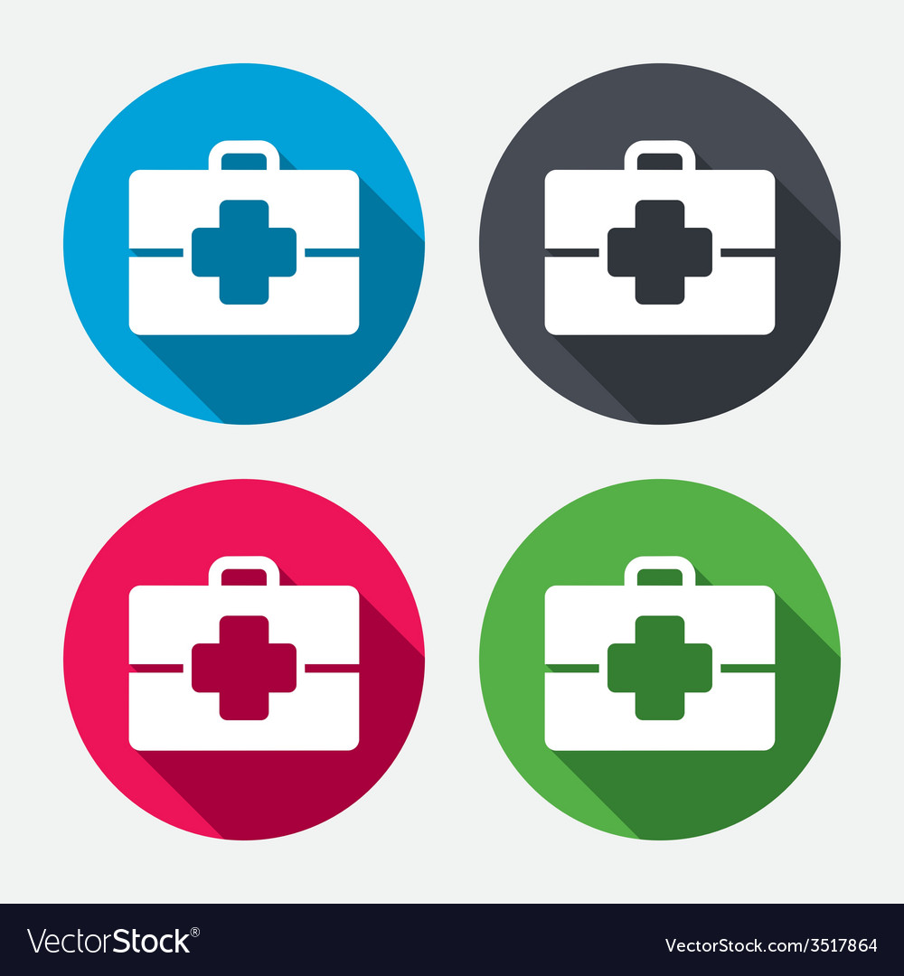 Medical case sign icon doctor symbol vector   Price: 1 Credit (USD $1)